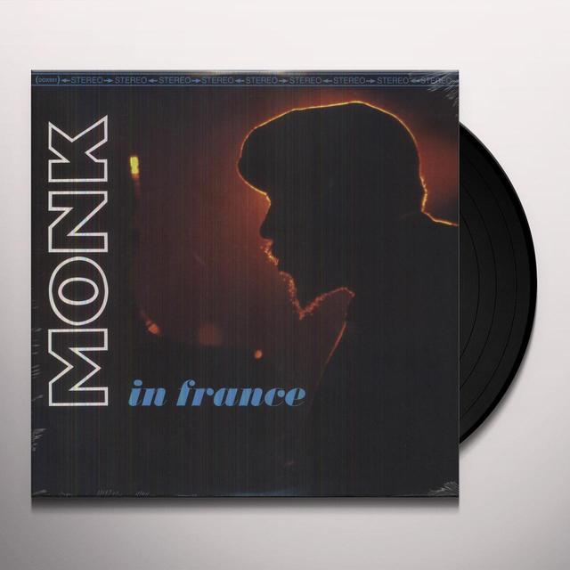 Thelonious Monk MONK IN FRANCE Vinyl Record
