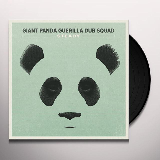 Giant Panda Guerilla Dub Squad STEADY Vinyl Record