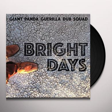 Giant Panda Guerilla Dub Squad BRIGHT DAYS Vinyl Record
