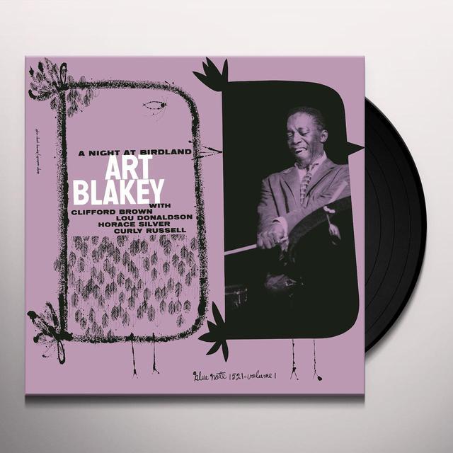 Art Blakey NIGHT AT BIRDLAND 1 Vinyl Record