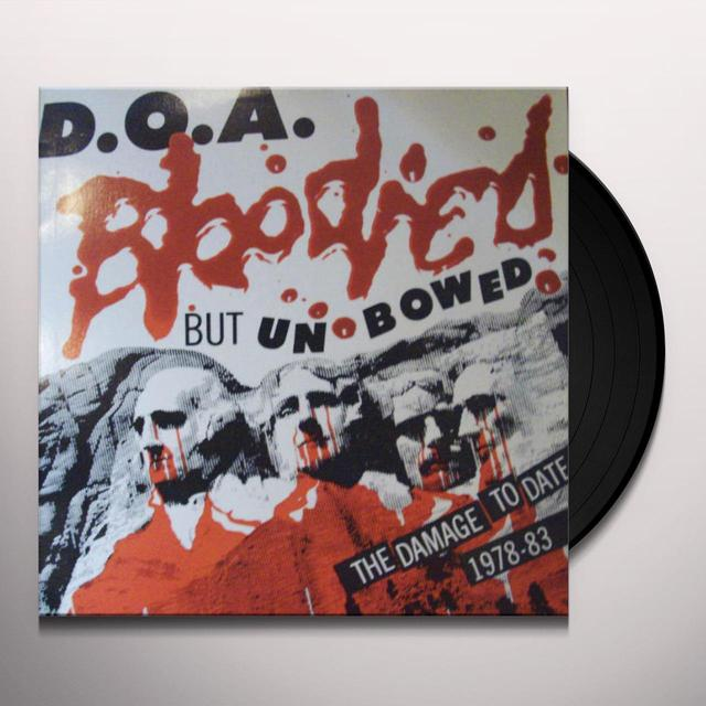 Doa BLOODIED BUT UNBOWED Vinyl Record