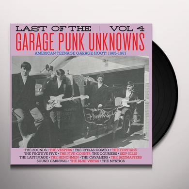 LAST OF THE GARAGE PUNK UNKNOWNS 3 / VARIOUS LAST OF THE GARAGE PUNK UNKNOWNS 4 / VARIOUS Vinyl Record