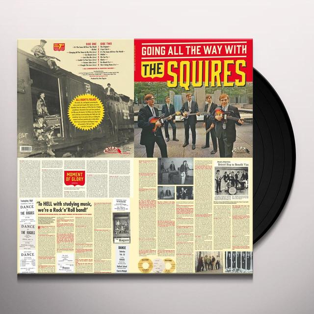 GOING ALL THE WAY WITH THE SQUIRES Vinyl Record