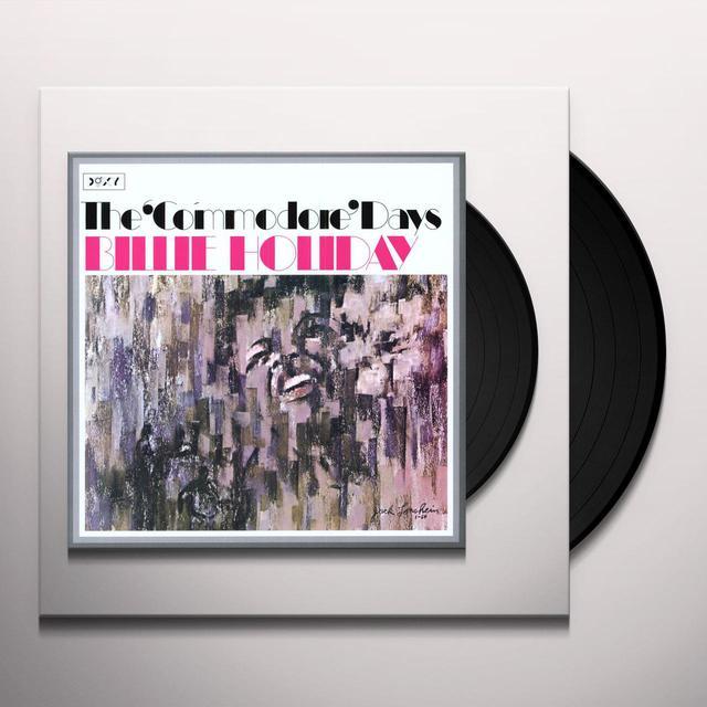 Billie Holiday COMMODORE DAYS Vinyl Record