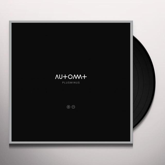Automat PLUSMINUS Vinyl Record - w/CD