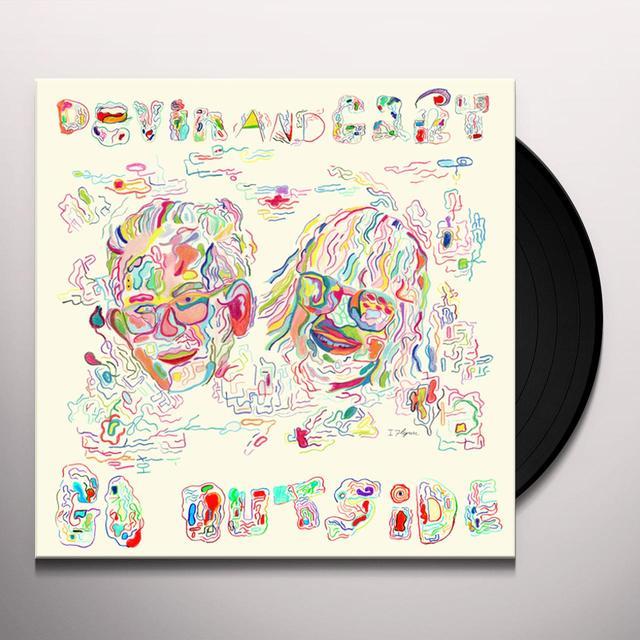 Gary Panter / Devin Flynn DEVIN & GARY GO OUTSIDE Vinyl Record