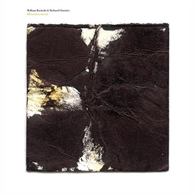 William Basinski / Richard Chartier DIVERTISSMENT Vinyl Record