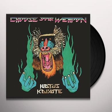 Hiatus Kaiyote CHOOSE YOUR WEAPON Vinyl Record - Holland Import