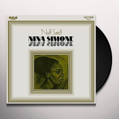 Nina Simone NUFF SAID Vinyl Record - Holland Import