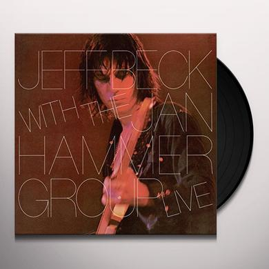 Jeff Beck With The Jan Hammer Group LIVE Vinyl Record