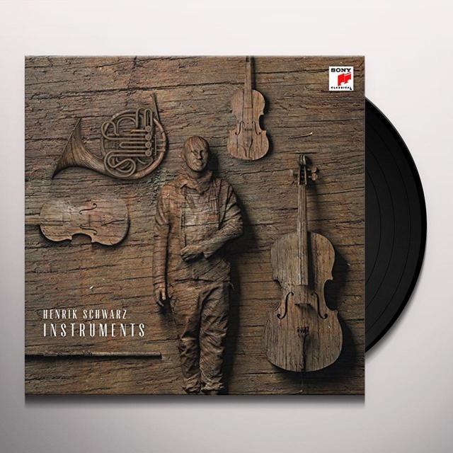 Henrik Schwarz INSTRUMENTS Vinyl Record - Holland Import