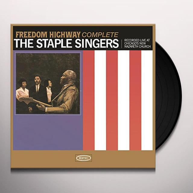 The Staple Singers FREEDOM HIGHWAY (EXPANDED) (EXP) Vinyl Record - Holland Import