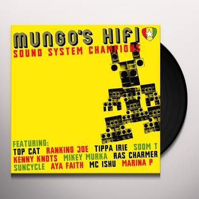 Mungo's Hi Fi SOUND SYSTEM CHAMPIONS Vinyl Record