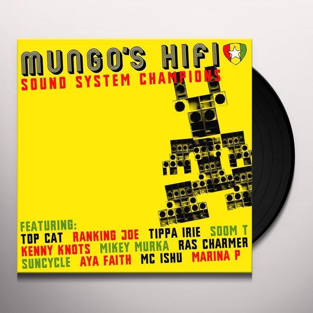 Mungo's Hi Fi SOUND SYSTEM CHAMPIONS Vinyl Record - UK Import