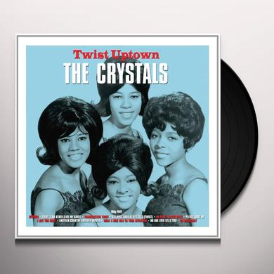 The Crystals TWIST UPTOWN Vinyl Record - UK Import