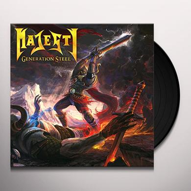 Majesty GENERATION STEEL Vinyl Record