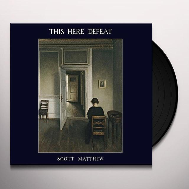 Scott Matthew THIS HERE DEFEAT (GER) Vinyl Record