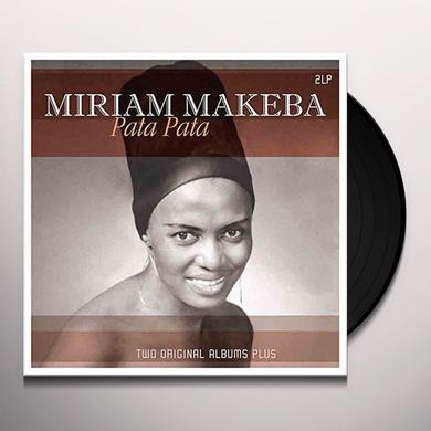 Miriam Makeba PATA PATA Vinyl Record - Holland Import