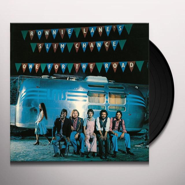 Ronnie Lane ONE FOR THE ROAD Vinyl Record - UK Import