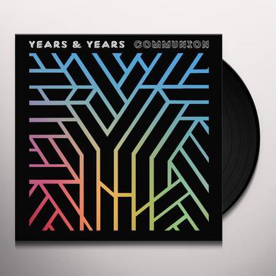 Years & Years COMMUNION Vinyl Record - UK Release
