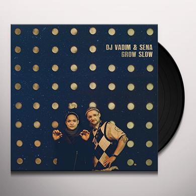 DJ VADIM & SENA GROW SLOW Vinyl Record - UK Import