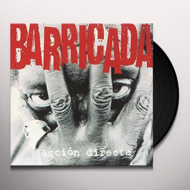 Barricada ACCION DIRECTA (BONUS CD) Vinyl Record - Spain Import