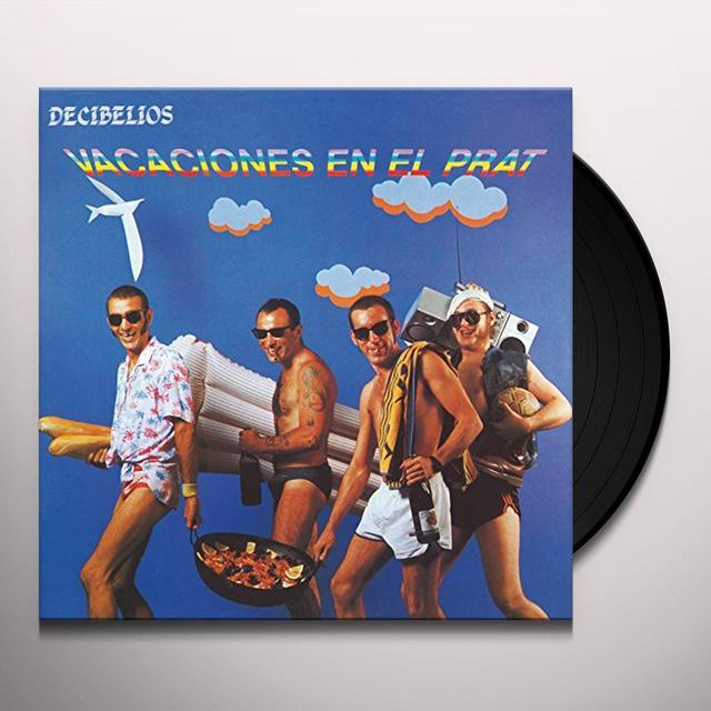 Decibelios VACACIONES EN EL PRAT (BONUS CD) Vinyl Record - Spain Import