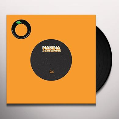 Marina & The Diamonds GOLD / FORGET Vinyl Record - UK Import