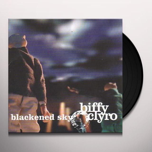 Biffy Clyro BLACKENED SKY Vinyl Record - Canada Release