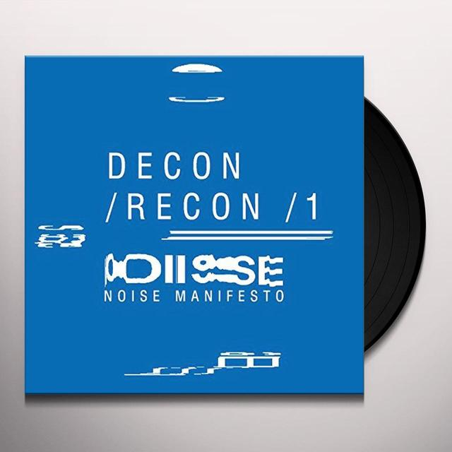 DECON/RECON/1 / VARIOUS Vinyl Record