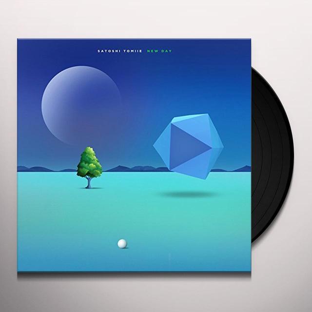 Satoshi Tomiie NEW DAY Vinyl Record - Gatefold Sleeve