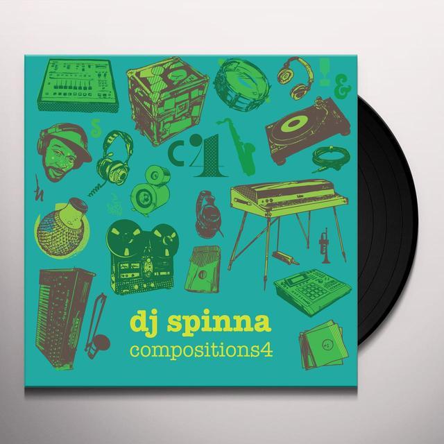 Dj Spinna COMPOSITIONS 4 (WSV) Vinyl Record