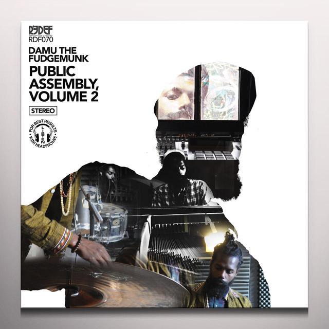 Damu The Fudgemunk PUBLIC ASSEMBLY 2 Vinyl Record - Colored Vinyl, Gold Vinyl