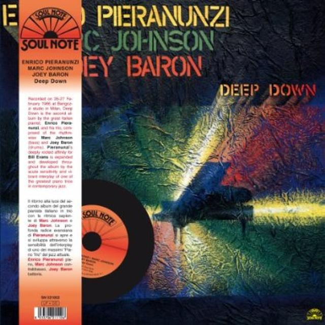 Enrico Pieranunzi with Joey Baron, Marc Johnson DEEP DOWN Vinyl Record