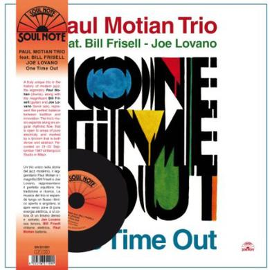 Paul Motian ONE TIME OUT Vinyl Record
