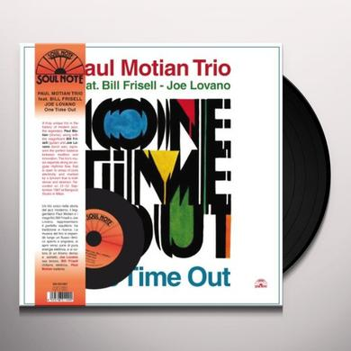 Paul Motian ONE TIME OUT Vinyl Record - w/CD