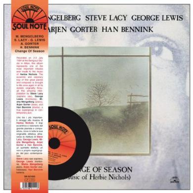 Misha Mengelberg / Steve Lacy / George Lewis CHANGE OF SEASON Vinyl Record
