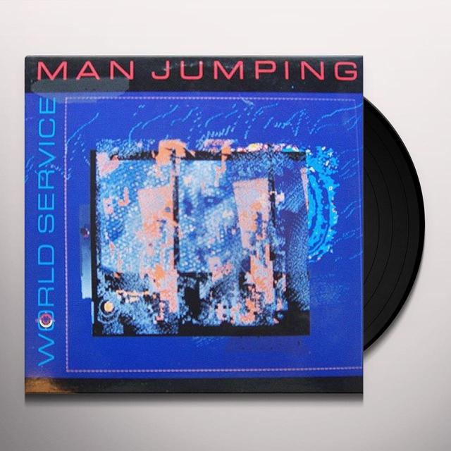 MAN JUMPING WORLD SERVICE Vinyl Record