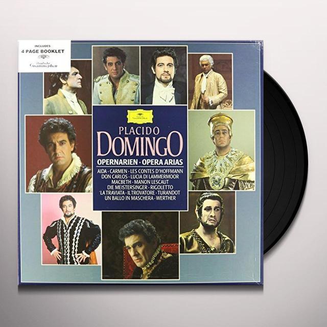 Placido Domingo OPERNARIEN-OPERA ARIAS / AIDA / CARMEN / LESCONTES Vinyl Record
