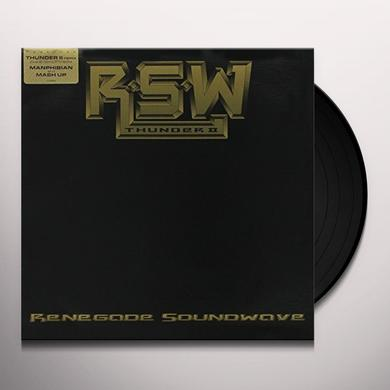 Renegade Soundwave THUNDER II Vinyl Record
