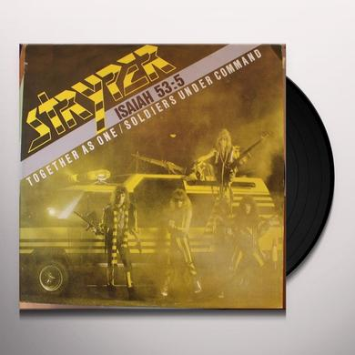 Stryper TOGETHER AS ONE / SOLDIERS UNDER COMMAND Vinyl Record