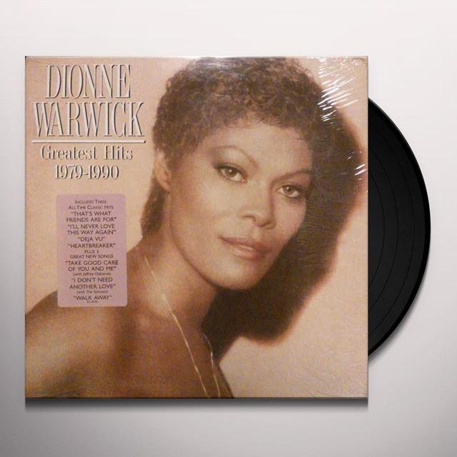Dionne Warwick GREATEST HITS (1979-1990) Vinyl Record