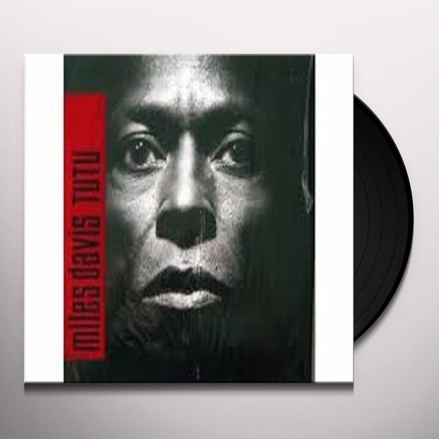 Miles Davis TUTU Vinyl Record