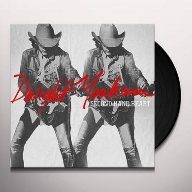 Dwight Yoakam SECOND HAND HEART Vinyl Record - Digital Download Included