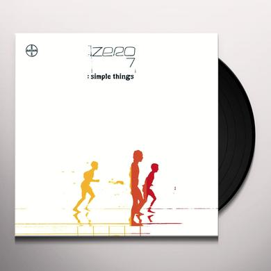 Zero 7 SIMPLE THINGS Vinyl Record - 180 Gram Pressing