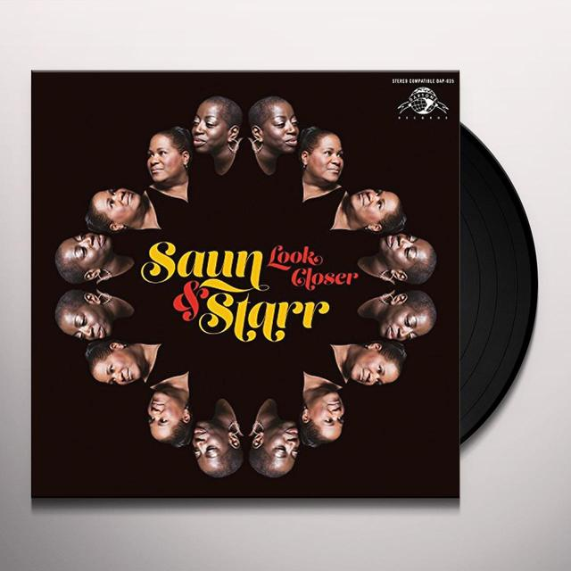 SAUN & STARR LOOK CLOSER Vinyl Record - Digital Download Included