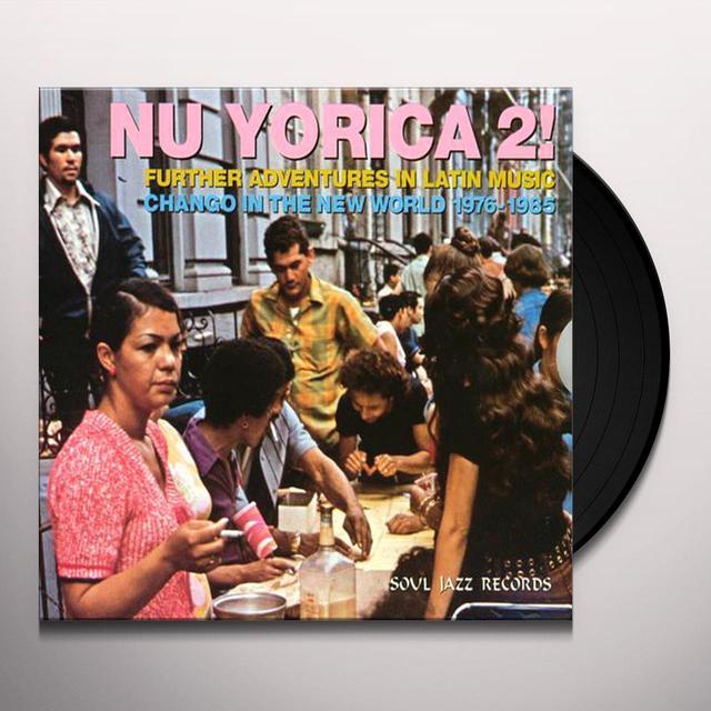 Soul Jazz Records Presents NU YORICA 2 Vinyl Record