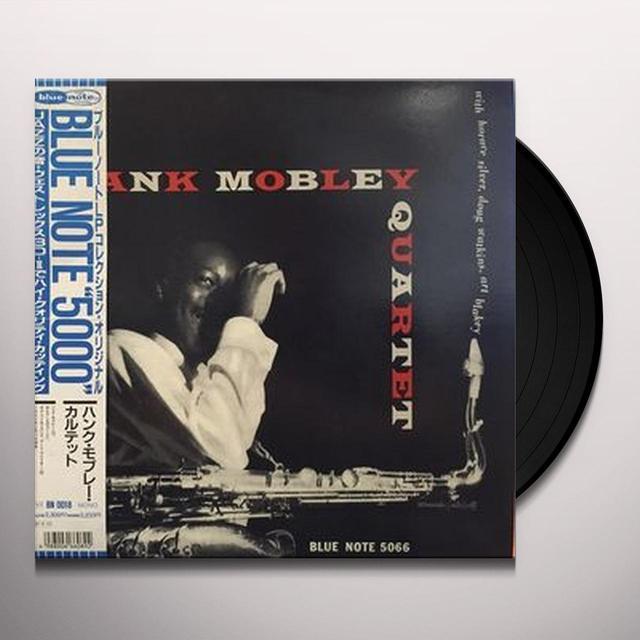 HANK MOBLEY QUARTET Vinyl Record - Remastered, Reissue