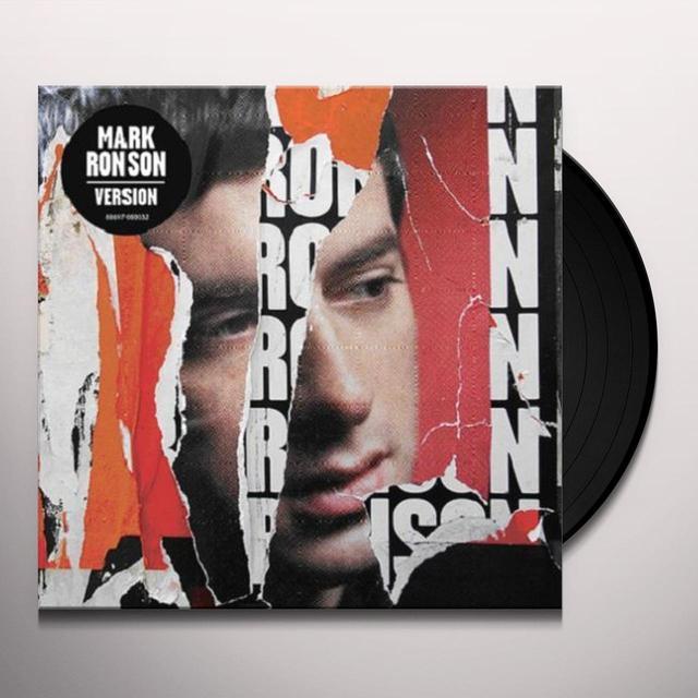 Mark Ronson VERSION Vinyl Record