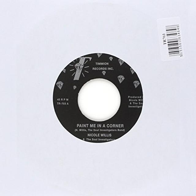 Nicole Willis PAINT ME IN A CORNER Vinyl Record